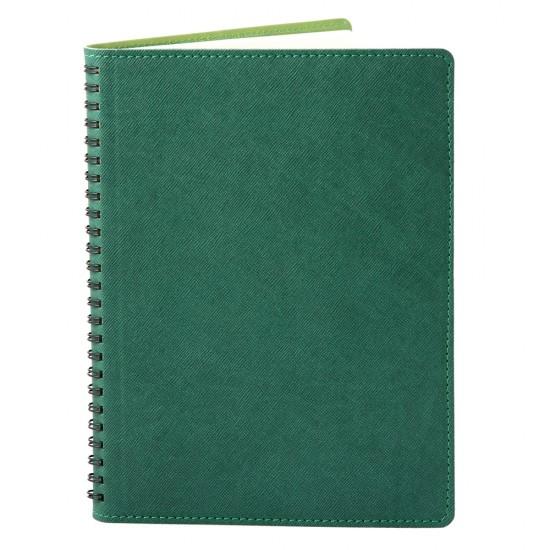 Agenda 360 piele verde