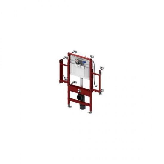 Cadru metalic incastrat pentru montare vas toaleta - Tece Gerontomodul - cu rezervor WC, actionare frontala, Tece