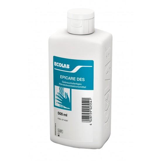 Aviz biocid - Dezinfectant pentru mâini EPICARE DES 500ml Ecolab