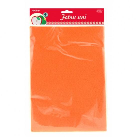 Accesorii craft - ad081p fetru uni set4 portocaliu
