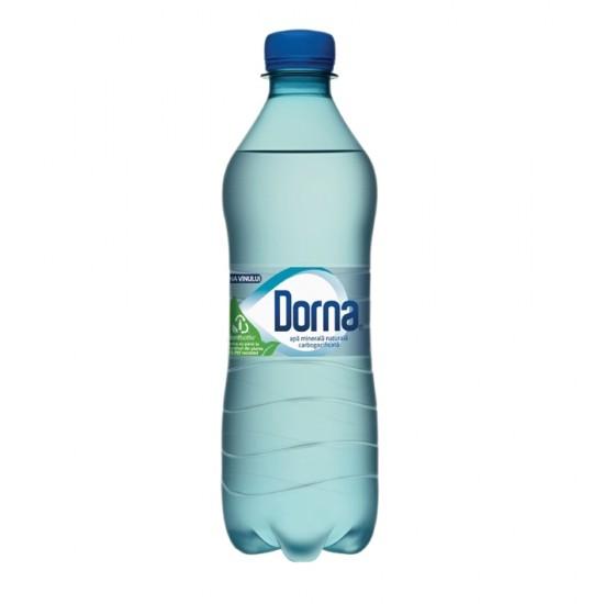 Apa minerala carbogazoasa Dorna, 0.5 l, 12 sticle/bax
