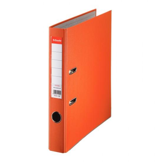 Biblioraft Esselte Economy, PP, A4, 50 mm, portocaliu