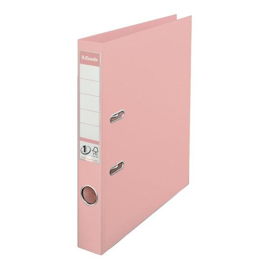 Biblioraft Esselte No.1 Power, PP/PP, A4, 50 mm, culoarea piersicii