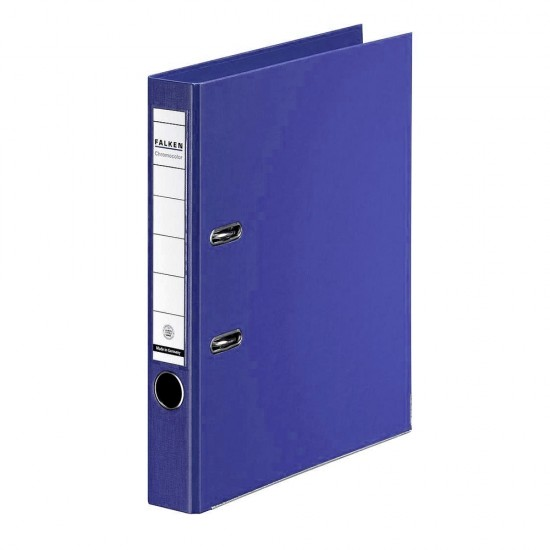 Biblioraft Falken Chromocolor, 50 mm, albastru