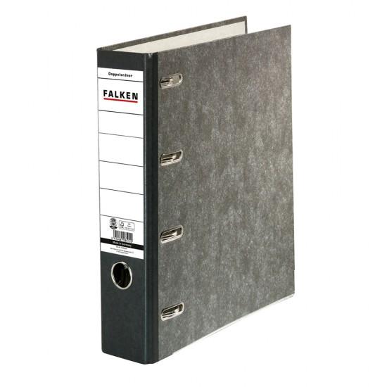 Biblioraft Falken cu 2 mecanisme, 70 mm, marmorat
