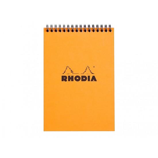 Blocnotes A5 Spiral Pad Rhodia Classic Orange